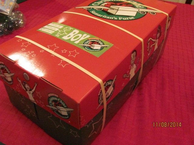 Traditions – Operation Christmas Child