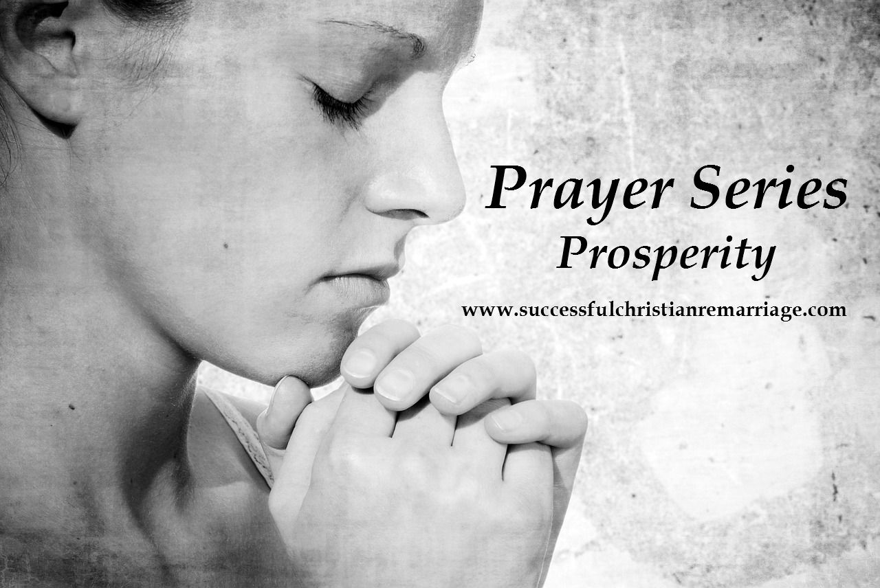 Prayer Series – Prosperity
