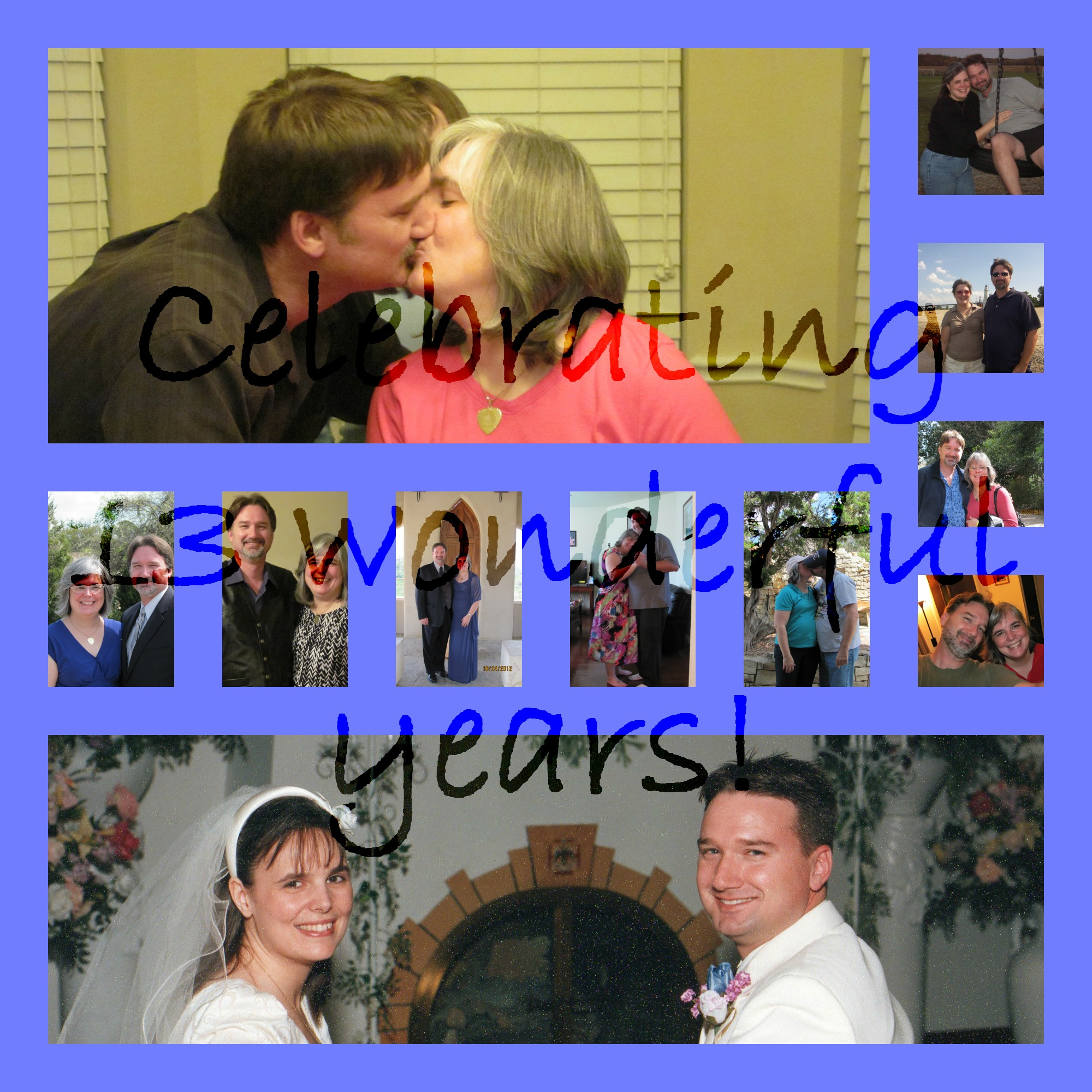 Happy 13th Anniversary to Us!